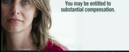 """Sad Woman"" in a transvaginal mesh implant commercial"