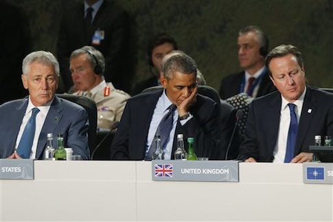 NATO leaders meeting in Wales /AP