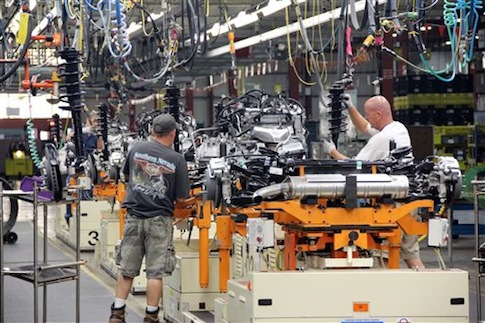 General Motors Spring Hill Manufacturing Plant in Spring Hill, Tenn. / AP