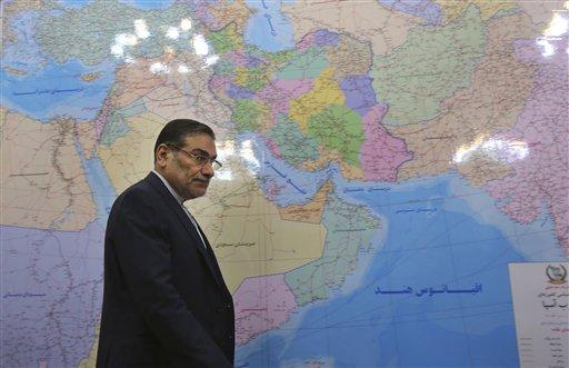Ali Shamkhani / AP