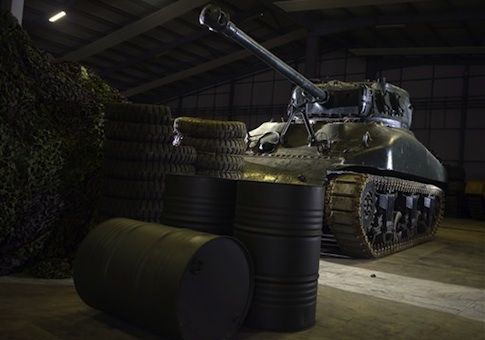 'Fury' film photocall at Bovington Tank Museum, Dorset, Britain - 28 Aug 2014