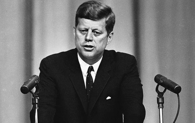 John F Kennedy definition cold war
