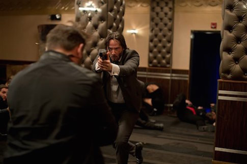 Keanu Reeves as John Wick / AP
