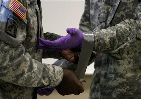 Ebola Military Training