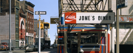 Richard Estes, Jone's Diner, 1975 / Courtesy of the Smithsonian American Art Museum