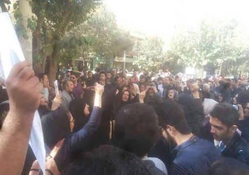 Protests in Iran / NCRI