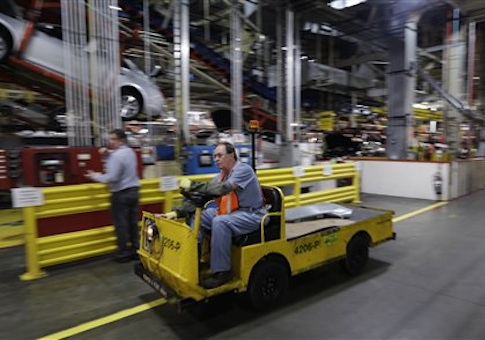 General Motors Fairfax plant in Kansas City, Kan. / AP