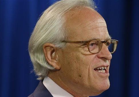 Former U.S. Ambassador to Israel Martin Indyk / AP