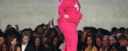 "Rebel Wilson performs as Fat Amy of ""Pitch Perfect"" at the MTV Movie Awards / AP"