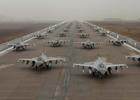 F-16s / AP