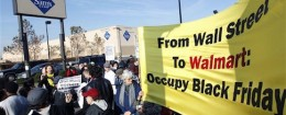 OUR Walmart protest on Black Friday 2012 in New Jersey / AP