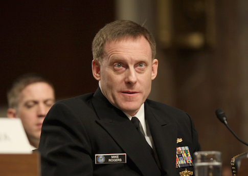 Adm. Michael Rogers testifies on Capitol Hill / AP
