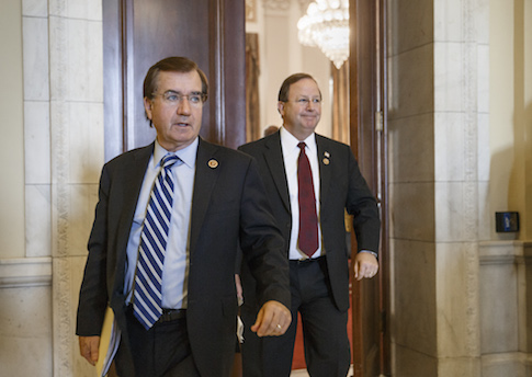 Rep. Ed Royce (R., Calif.) and Rep. Bill Flores (R., Texas) / AP