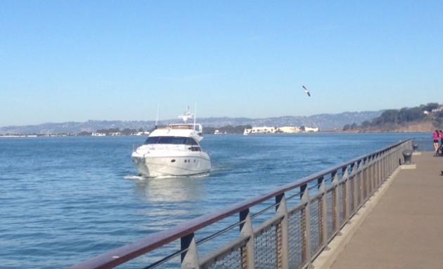 Simon's boat 'Elan' / Lachlan Markay