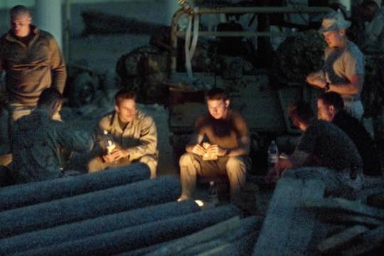 Marines in Afghanistan, 2001 / AP
