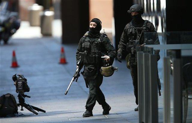 Authorities in Sydney / AP Images