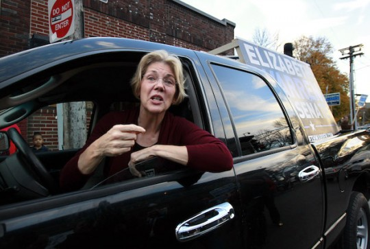Elizabeth Warren Lashes Out At Think Tank That Destroyed Her