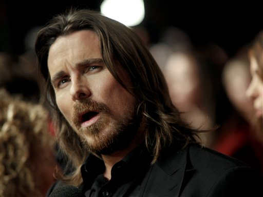 Noted diva, Christian Bale