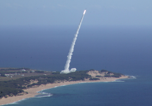 The USS Decatur fired an SM-3 interceptor missile from a point off Kauai, hitting the mid-range target's simulated warhead 100 miles above the Earth