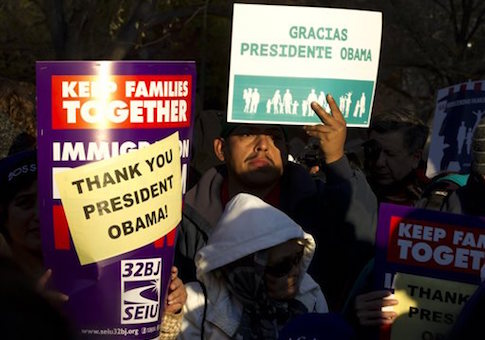 Supporters of immigration reform / AP