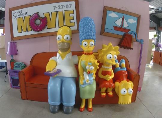 Simpsons City Contest