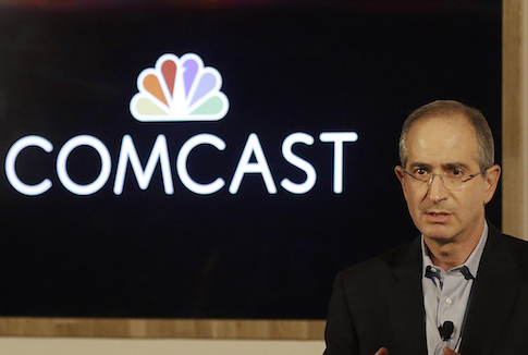 Comcast Corporation chairman & CEO Brian Roberts / AP