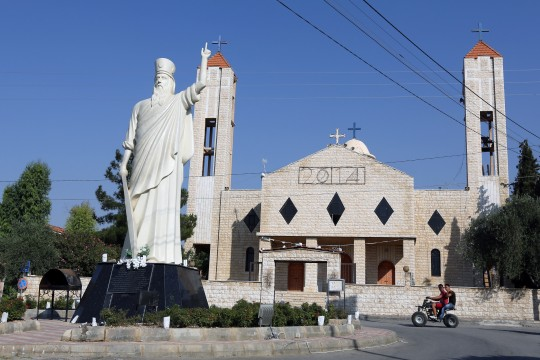 Christian church in Lebanon / AP