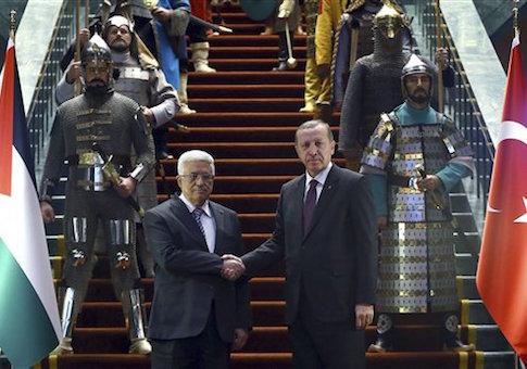 Mahmoud Abbas, Recep Tayyip Erdogan