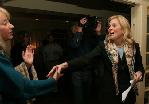 Diane Farrell ran twice for a House seat in Connecticut. / AP