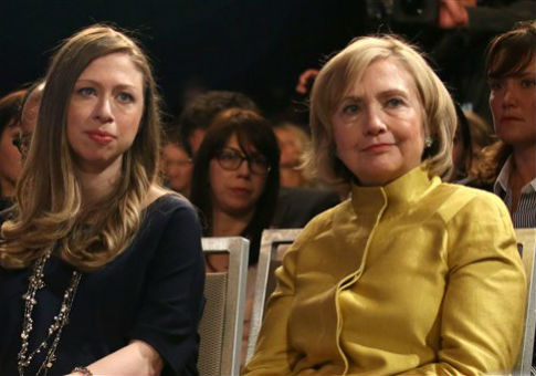 Hillary and Chelsea Clinton / AP
