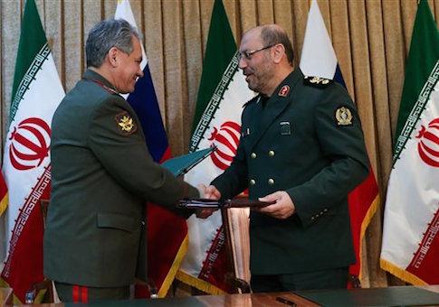 Sergei Shoigu, Hossein Dehghan