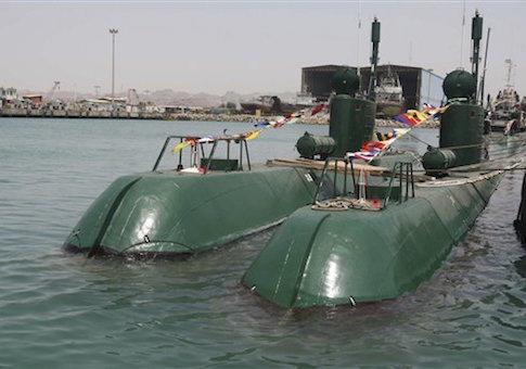 Iran's Ghadir submarines