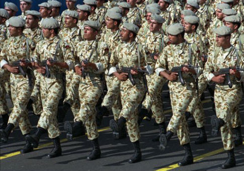 Iranian Revolutionary Guard Corps / AP