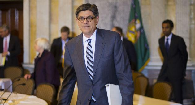 Secretary of the Treasury Jack Lew / AP