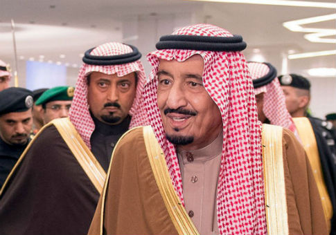 King Salman, Saudi Arabia's newly enthroned monarch / AP