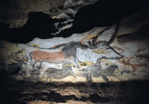 Lascaux cave drawings in southwest France / AP