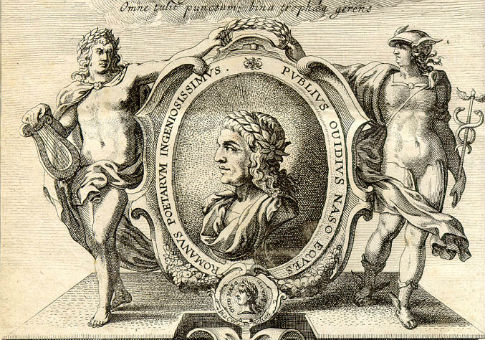 Ovid as envisioned by a 17th century engraver / WikiCommons