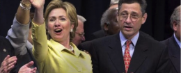 Hillary Clinton with Sheldon Silver / AP