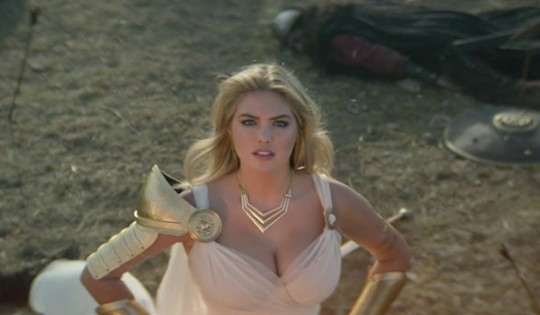 Kate Upton in 'Game of War' ad