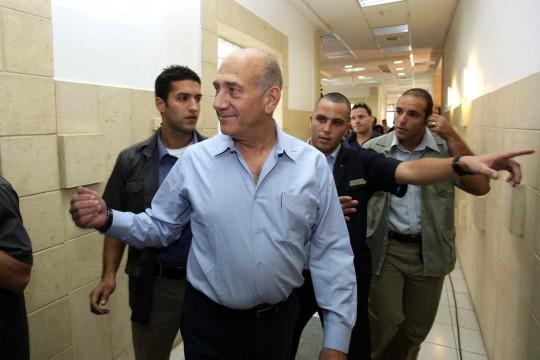 Former Israeli Prime Minister Ehud Olmert / AP
