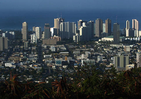 Honolulu skyline / AP
