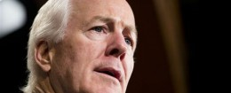 Sen. John Cornyn (R., Texas) was the chief sponsor of the resolution welcoming Netanyahu. / AP