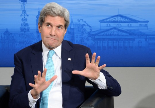 John Kerry / Christof Stache / Getty Images