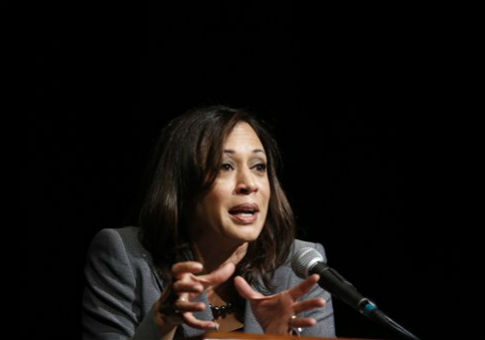 Kamala Harris, California's attorney general and a Democratic candidate for the U.S. Senate / AP