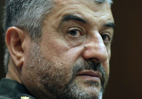 Mohammad Ali Jafari, the commander of the IRGC. / AP