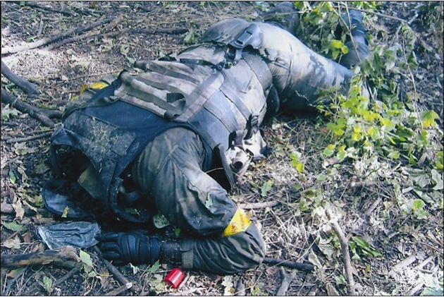 Platoon commander from the Dnepr-1 Battalion killed in action