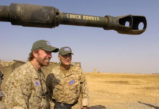 Chuck Norris / AP