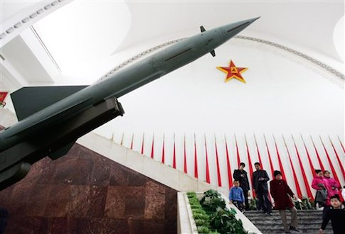 Chinese missile / AP