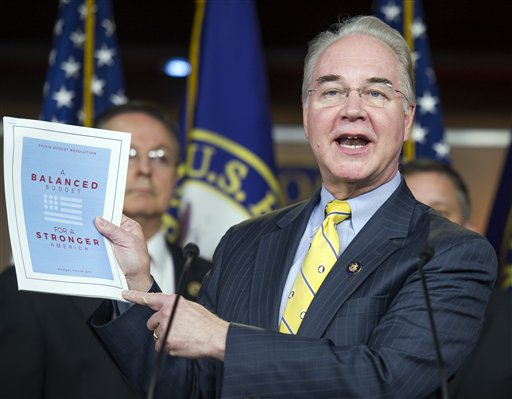 Rep. Tom Price (R., Ga.) / AP
