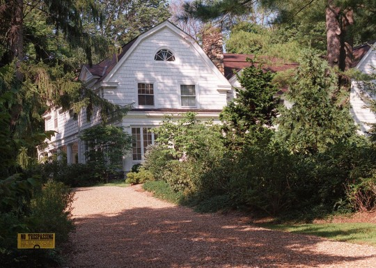 Clintons Add On To Chappaqua Mansion